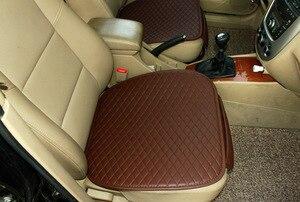 Image 2 - 3 шт. подушка для автомобильного сиденья, Модный чехол для автомобильного сиденья, автостайлинг, автомобильные аксессуары, искусственная кожа, производство