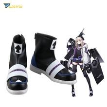 Mädchen Frontline AA12 Cosplay Schuhe Stiefel Nach Maß