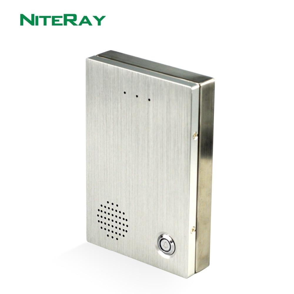Security IP door phone door intercom phone compatible with door magnetic lock IP pbx system ip door intercom system audio door phone support sip protocol