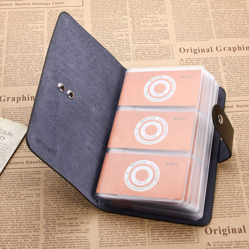 Genuine leather business card bag large capacity cowhide credit card genuine leather business card bag large capacity cowhide credit card case long design free shipping in card id holders from luggage bags on colourmoves