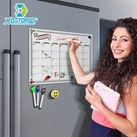 A3 월간 일일 플래너 화이트 보드 냉장고 자석 29.7*42cm 자기 유연한 게시판 드로잉 냉장고 화이트 메시지 보드|화이트보드|사무실 & 학교 용품 -