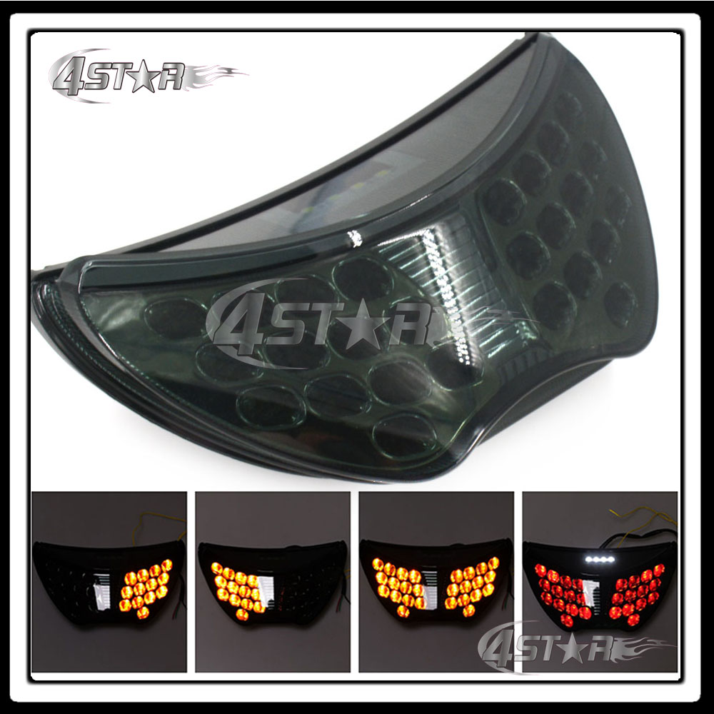 Somke LED Rear Turn Signal Tail Stop Light Lamp Integrated Brake Light For CBR 600 CBR600 F4 1999 2000 99 00 F4I 2004 2005 2006