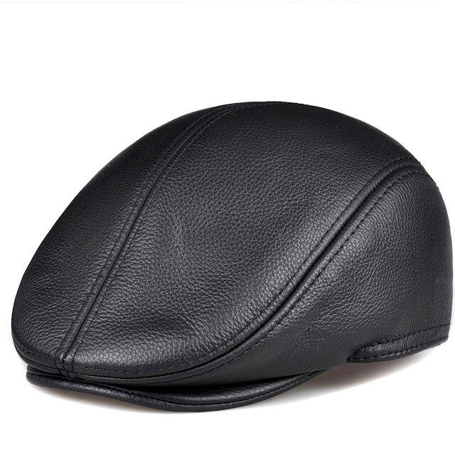 Tebal Hangat Topi Pria Topi Topi Merah Coklat - Daftar Harga Terkini ... 6b3b5da1a1