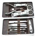 12 in 1 Nail Clipper Kit Nail Care Set Pedicure Ear pick Utility Stainless Steel Manicure Set Tools