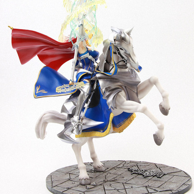 Anime Fate Stay Night Saber Arutoria Pendoragon Horse Riding Figure PVC Action Collectible Toy Mode For Kids Gifts With Box 45cmAnime Fate Stay Night Saber Arutoria Pendoragon Horse Riding Figure PVC Action Collectible Toy Mode For Kids Gifts With Box 45cm