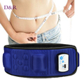 Best Quality 220V Electric Vibration Infrared Ray Sauna Waist Slimming Belt Fat Burning Heating Massage Vibrator Massager