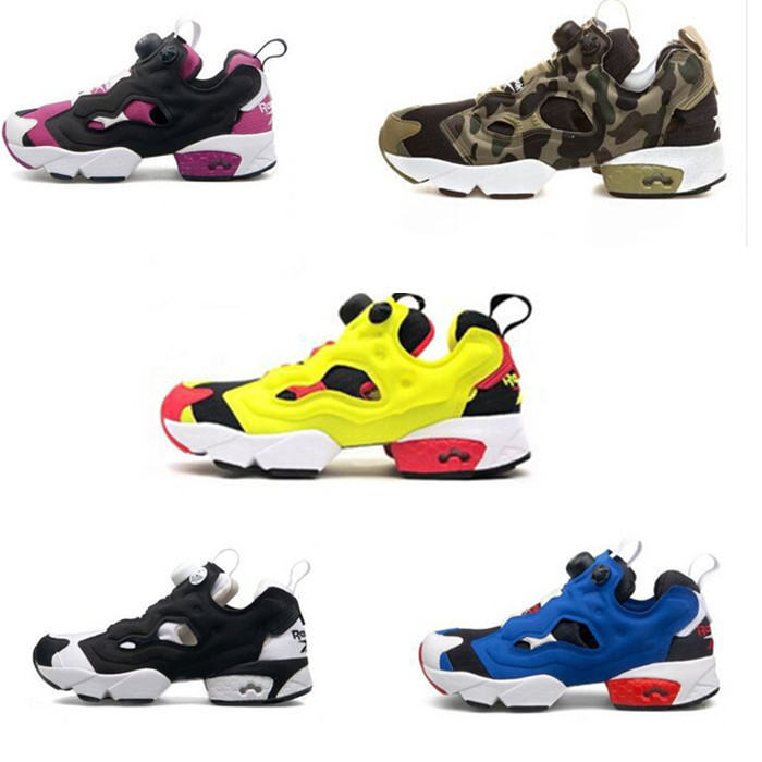 € 70.29  2015 Top Quality New Insta Pump Fury OG Men Sports Shoes For Reebook Runner Fans Women Low Cut Sneakers Free Shipping Size 36 44 en