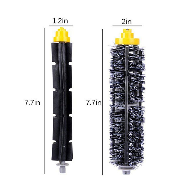 For iRobot Roomba 500 600 Series Vacuum Cleaner Parts Bristle & Flexible Beater & Side Brush Filter HEPA Clean Tool Accessories 1
