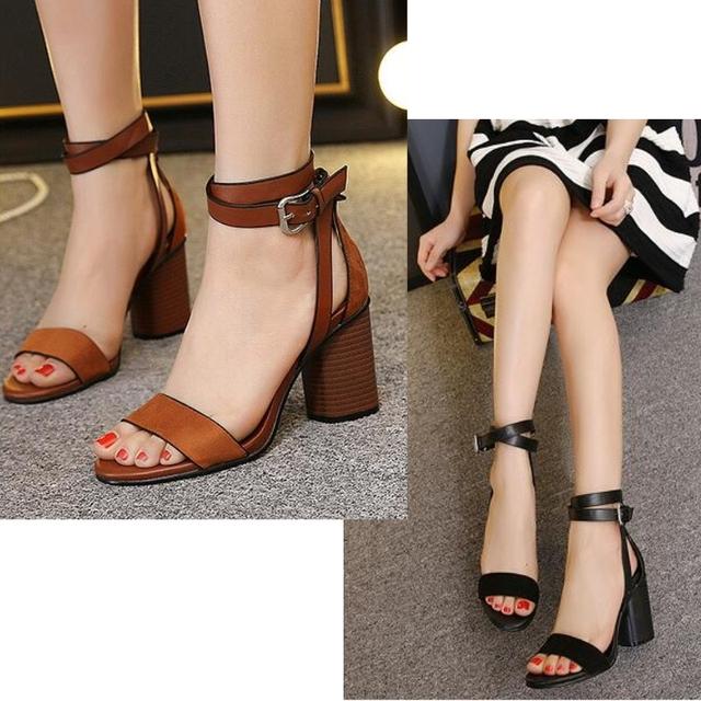 Mulheres verão Sandálias Flip Flops Sandálias das Mulheres Do Dedo Do Pé Aberto Calcanhar Grosso Sapatas Das Mulheres Coreano Estilo Gladiador Sapatos Plataforma Cunha sapato