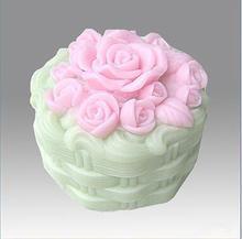 3D Silikon Seife/Kerze-form-Rose Blume silikon Formen handgemachte Kuchen formen silikagel form kuchen dekoration backen werkzeuge