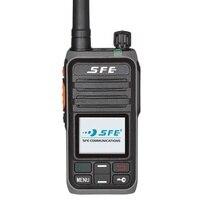 Цифровой PoC PTT Walkie Talkie SE368 с LTE WCDMA GSM GPS SFE Woki Toki трансивер