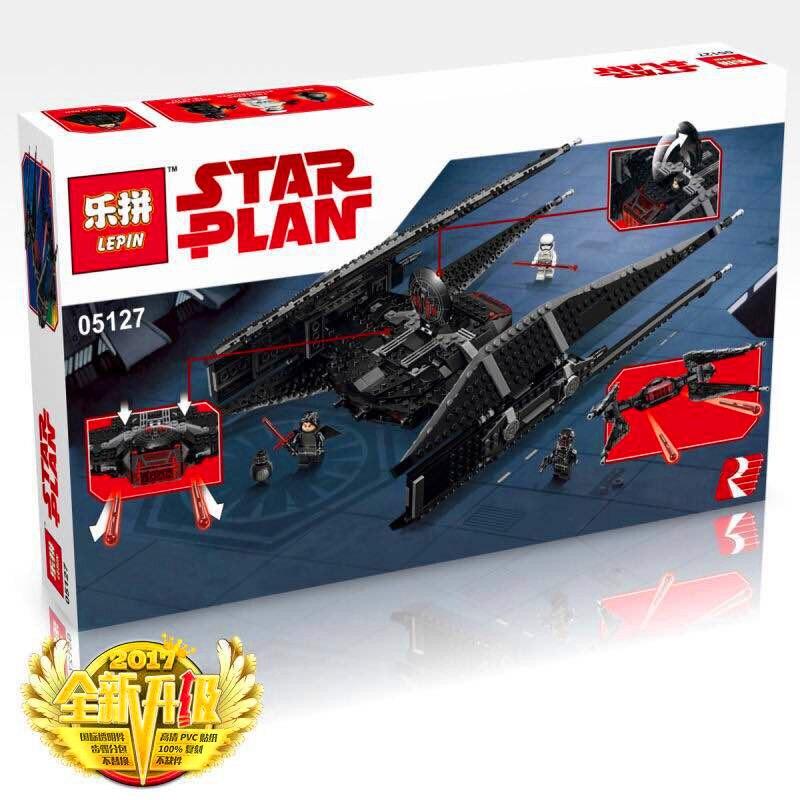 Lepin 05127 705 Stcke Star Classic Serie Die Tie Modell Kampfer Set Bausteine als Padagogisches weihnachtsgeschenke legoed 7517 цена