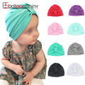 Boho turbante chapéu do bebê recém-nascido cap beanie quente algodão sono da criança kids clothing natal acessórios chapéu fotografia prop