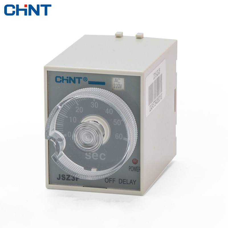 цена на CHINT Time Relay Power Failure Time Delay JSZ3F Time Delay 220v 12v 24v 380v 110v 36v