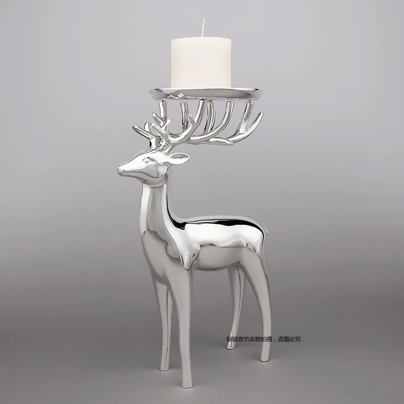 Online Get Cheap Reindeer Candle Holder Aliexpress