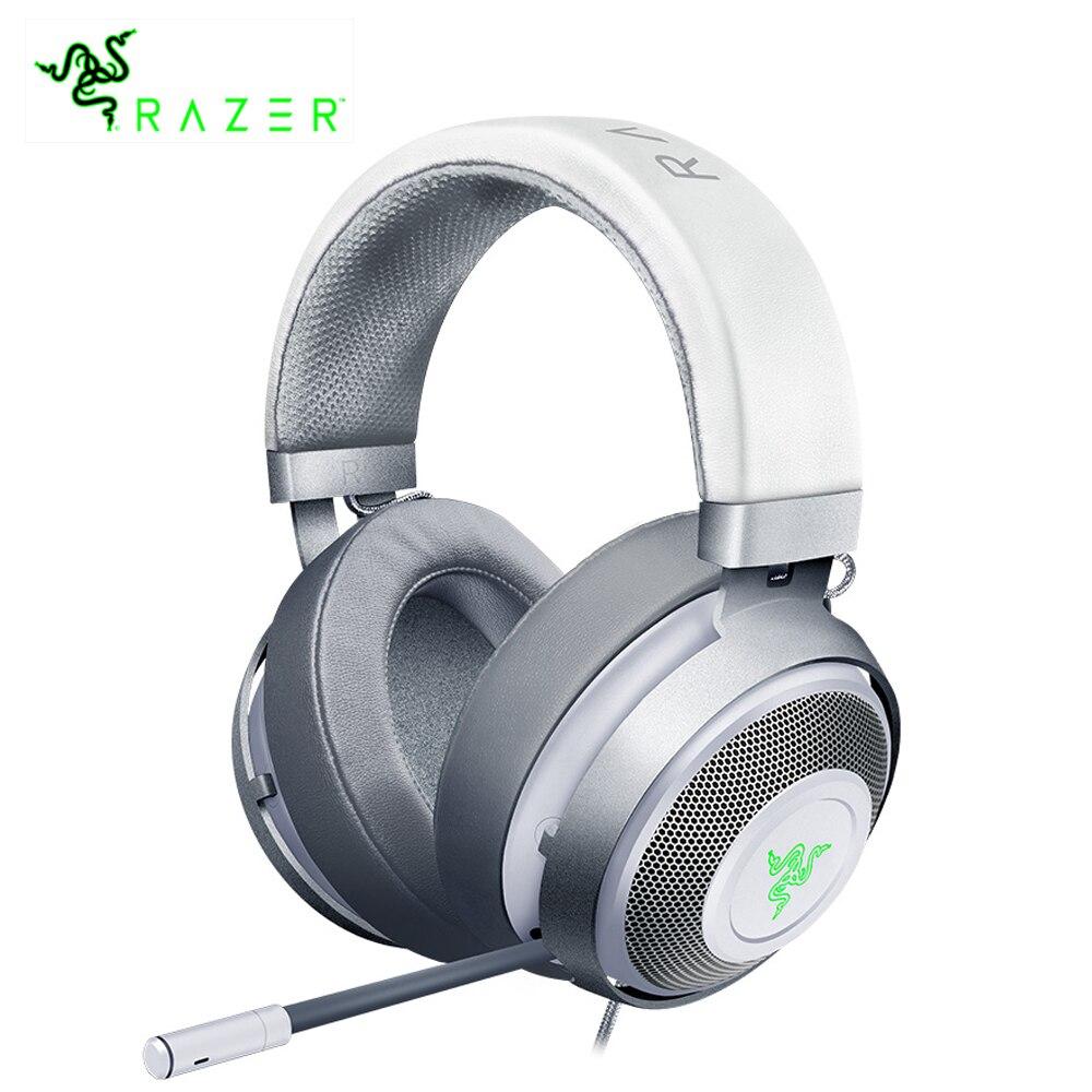 Razer Kraken 7.1 Chroma V2 casque de jeu USB avec Microphone numérique rétractable et éclairage Chroma casque de jeu