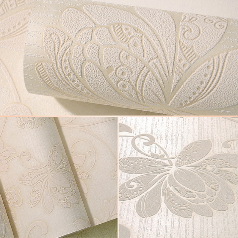 Hot selling 3D wallpaper vine decoration flowers wall paper decor for living room papel de parede 3d roll wallpapers decoration silver embossed striped wallpaper roll non woven wall paper decor for living room papel de parede 3d 53 1000cm