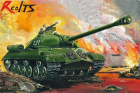 RealTS Plastic Model Kit Trumpeter 00316 1/35 Russische Zware Tank IS-3M