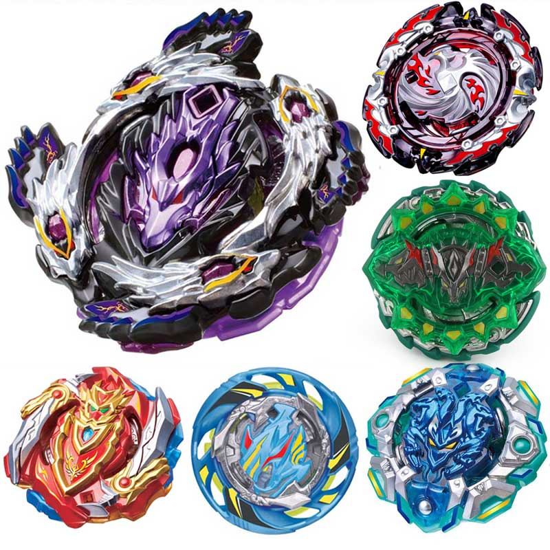 Top Launchers <font><b>Beyblade</b></font> Burst Toys <font><b>B</b></font>-<font><b>135</b></font> <font><b>B</b></font>-129 <font><b>B</b></font>-134 bables Toupie Bayblade burst Metal God Spinning Tops Bey Blade Blades Toy image
