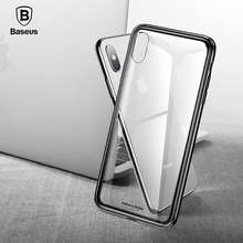 Baseus See-through Glass Protective Case for iPhone X/Xs, Xr, Xs Max