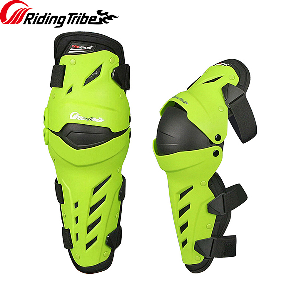 Riding Tribe 2018 Motorcycle Riding Knee Pads Motocross Off Road Racing Shin Guards Full protection Gear