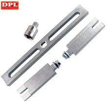 Auto Pumpe Werkzeuge Einstellbare Kraftstoff Tank Schlüssel Deckel Entfernung Kit Auto Kraftstoff Tank Werkzeuge für Benz/BMW/VW ME3L