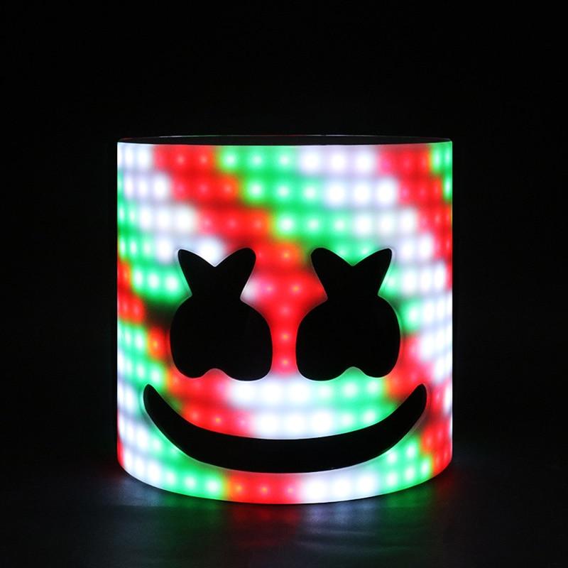 LED Powered DJ Marshmello Mask Helmet | 28cm 45 Styles