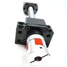 3 STÜCKE kugelgewindetriebe RM1605-350/950/1550mm + 3 sfu1605-3 ballnut kugelumlaufspindel + 3BK12/BF12 + 3 XB25-30-8 * 10mm Koppler + 3 DSG16h