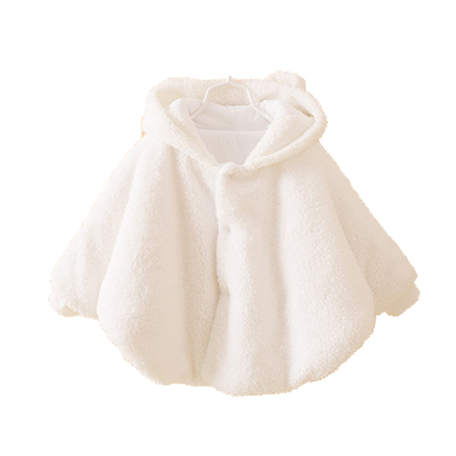 Newborn Baby Girl Jacket Baby Winter Clothes Warm Flannel Cloak Toddler Girl Clothing Cape For Outerwear Coat Baby Clothes