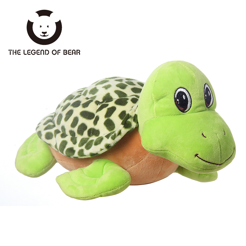 THE LEGEND OF BEAR Brand Tiny Tortoise Dolls Stuffed Plush Animals Toys For Children Kawaii Toy Gilrs Pillow 3 Size Hot Sale 30cm mickey mouse and minnie mouse toys soft toy stuffed animals plush toy dolls