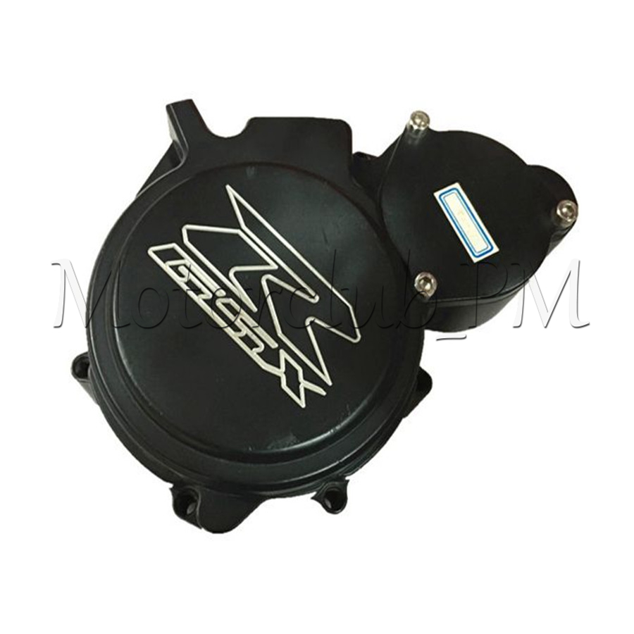 Motorcycle AluminumEngine Stator Crankcase Cover For Suzuki GSXR600 GSXR750 2006 2007 K6 Black