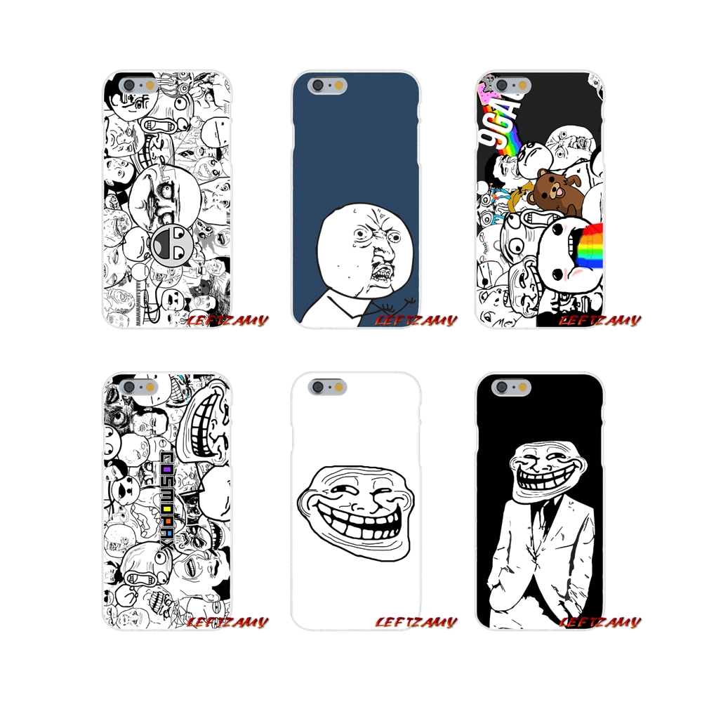 For Samsung Galaxy A3 A5 A7 J1 J2 J3 J5 J7 2015 2016 2017 Accessories Phone Cases Covers Rage Comics Face Meme image