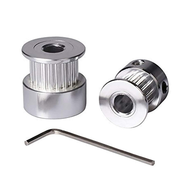 Best Price 5M GT2 Timing Belt with 2 16 Teeth Aluminium Timing Pulley Wrench for Creality CR-10 10S 3D Printer LCC77