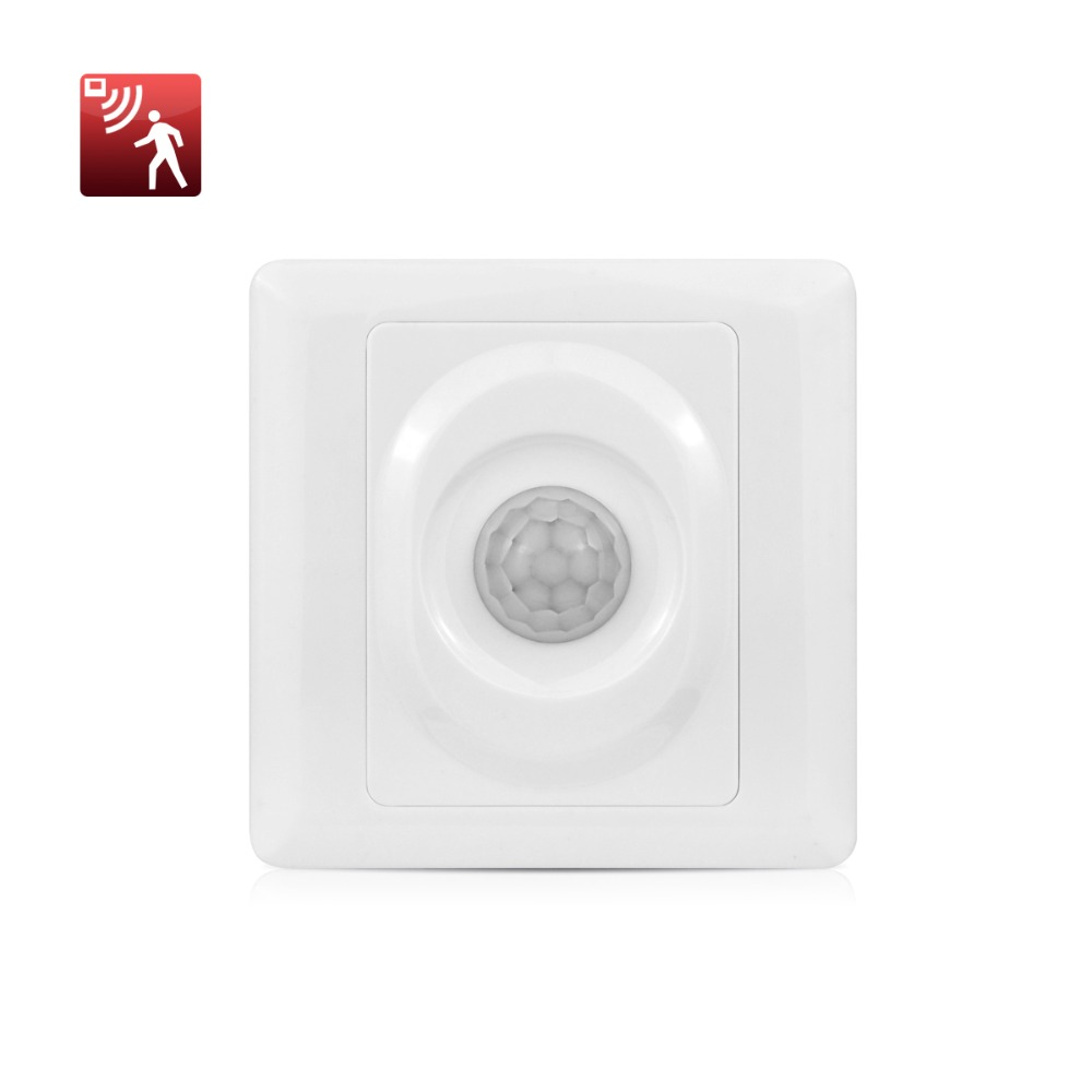 Fluorescent Light Delayed Start: Adjustable Time Delay PIR Sensor Switch Infrared Induction