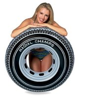 91cm Tyre style Inflatable Swimming Ring Swim Laps Floating Swimming Circle Summer Water Sports