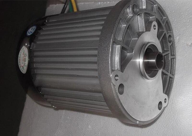 BM1424HQF-14BA 2200w DC  72v  brushless motor without differential gear, BLDC motor without gearbox. bm1424 2200w dc 72v brushless motor without gearbox electric car bldc motor
