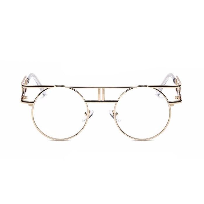 CandisGY mote metall ramme steampunk solbriller kvinner merkevare - Klær tilbehør - Bilde 2