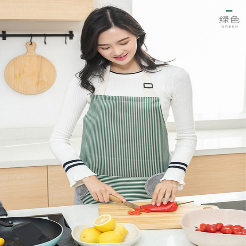 bbq apron Japanese waterproof prevent oil Erasable hand apron bbq tool free shipping in Aprons from Home Garden