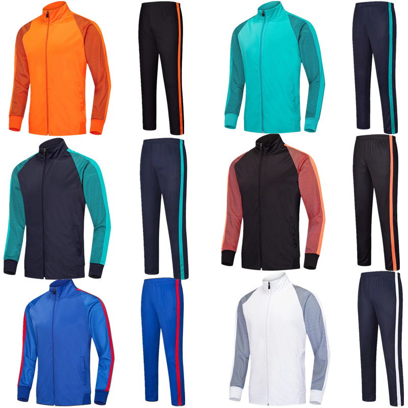 children up to adults long sleeve soccer Running jackets and pants kids tracksuit Training man football suit  6803children up to adults long sleeve soccer Running jackets and pants kids tracksuit Training man football suit  6803