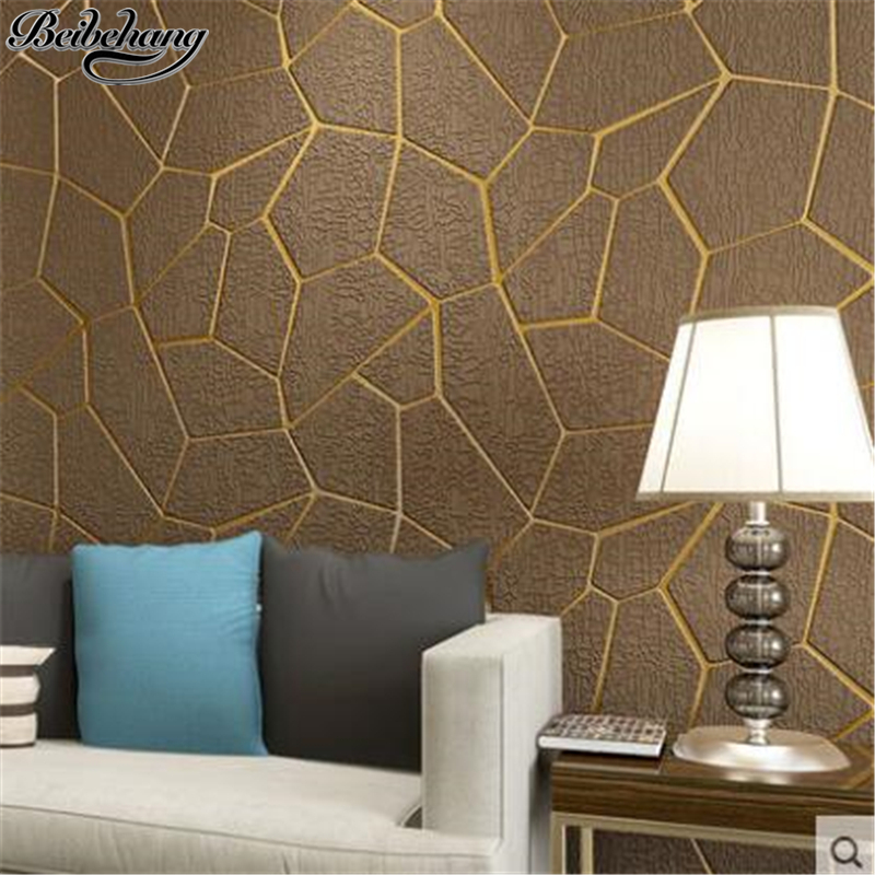 beibehang Suede wall paper Modern simple bedroom living room sofa background wallpaper 3D stereo home wallpaper papel de parede beibehang modern minimalist 3d photo wallpaper for walls 3d warm living room bedroom tv background papel de parede 3d wall paper