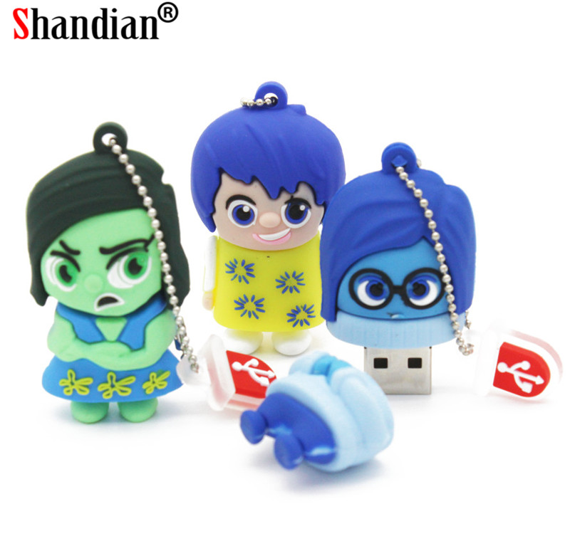 External Storage Hearty Jaster Promotional Mini Cartoon External Storage Usb 2.0 4gb 8gb 16gb 32gb 64gb Wearing A Hat M Bean Series Usb Flash Drive