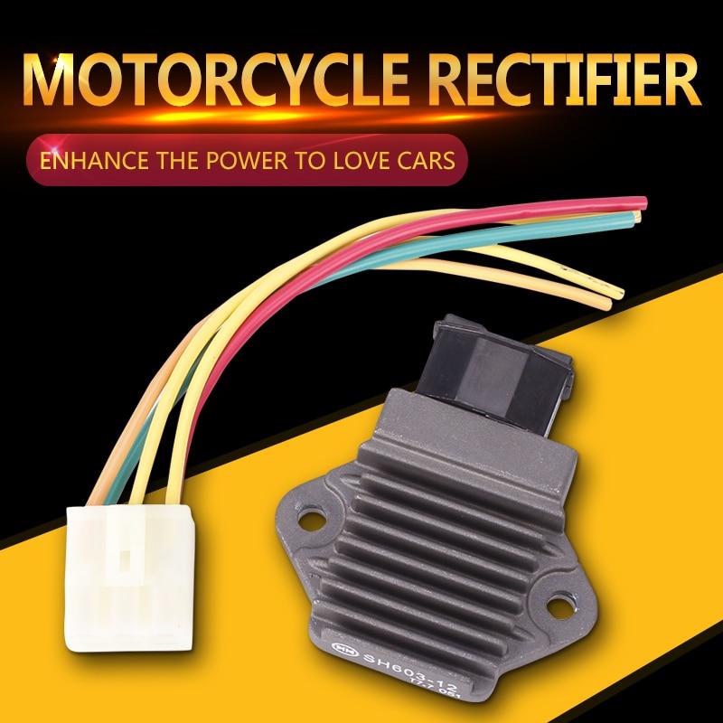 Rectifier Voltage Regulator Charger With Plug For Honda CB400 VTEC CB1 CBR250 CBR400 NSR250 CBR900RR CBR600 SHADOW VTR250 VFR750