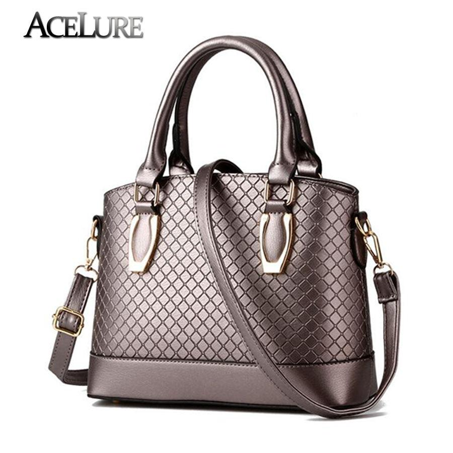 Women luxury handbags new stylish female shoulder bags sac a main bolsos 2017 new ladies pu leather messenger bags casual totes