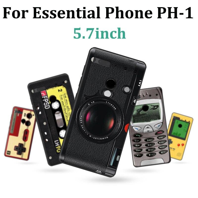 For ESSENTIAL PHONE PH-1 Case retro cartoon soft phone Case For ESSENTIAL PHONE PH1 Cover Protection Shell fundas back cover(China)