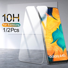 10H Screen protector Glass For Samsung Galaxy A70 A60 A50 A40 A30 A20 A10 Tempered Film on For A70 M30 M20 M10 Protective glass(China)