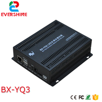 Vender BX YQ3 caja de envío a todo color 1280 720 píxeles led reproductor multimedia se aplica