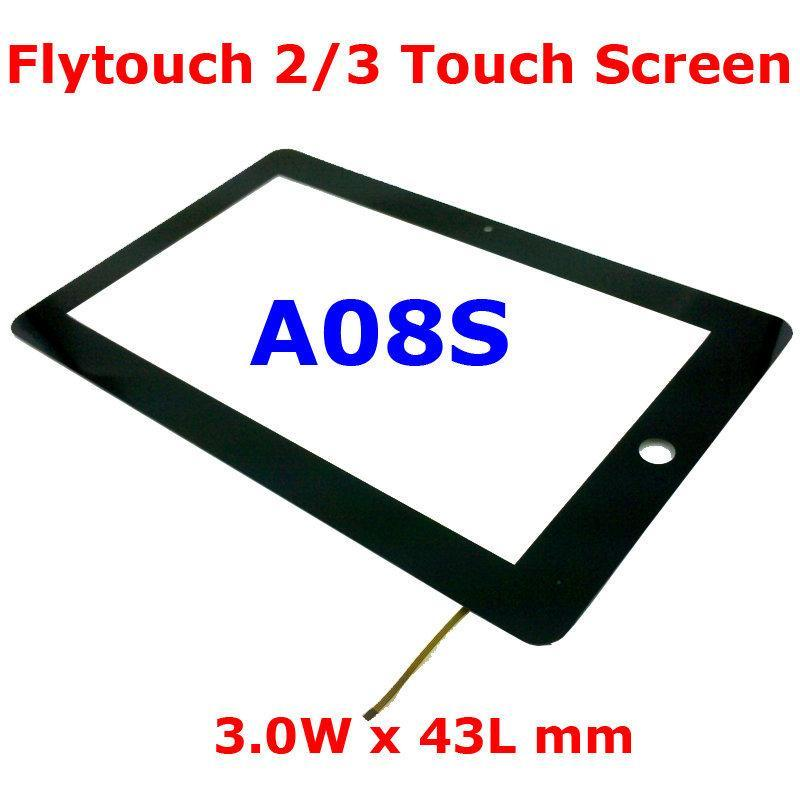 "10.2"" 10.2 Inch Replacement for FlyTouch 2 3 4 <font><b>5</b></font> 6 7 <font><b>8</b></font> A08S 3W <font><b>x</b></font> 43L mm Touch Screen Digitizer"