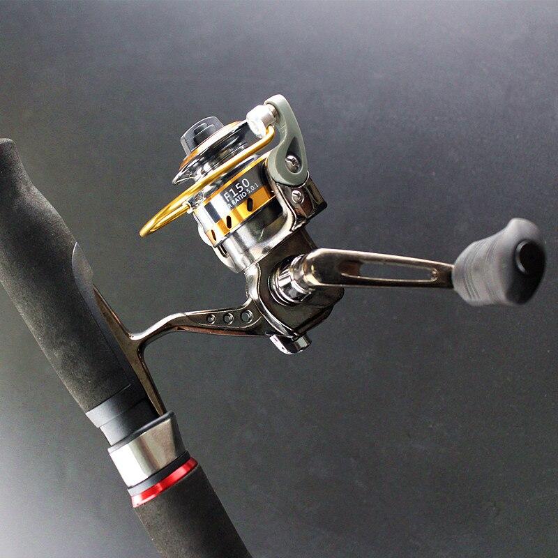 Мини из металла Ocean Рок Рыбалка прялка 3BB + 1RB 5.0: 1 высокая прочность Бесплатная доставка