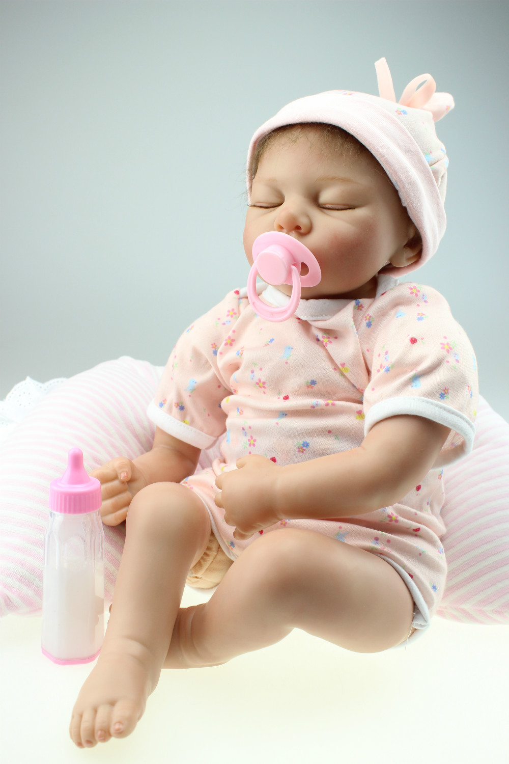 Silicone Vinyl Doll Baby toys Newborn Simulation Babydoll Girls Present to be learing tools for mothers newborn simulation babydoll silicone vinyl doll educational enlightenment baby toys girls present