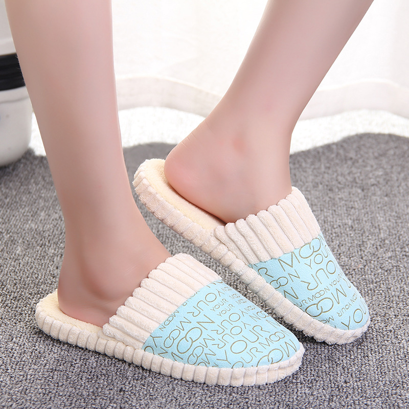 2018 Winter Women Slippers Warm Soft Couple House Shoes Cotton-padded Men Home Slippers Indoor Shoes Plush Slippers Pantufas plush slipper expression men and women slippers winter house shoes lovely warm indoor slippers soft plush shoe zapatos de mujers